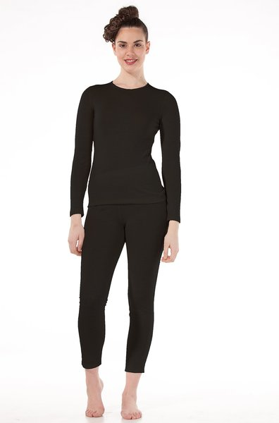 Damen Thermo-Unterhemd langarm 95% Royal Alpaka